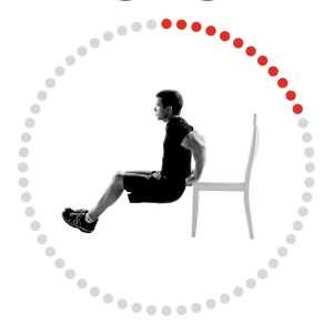 Triceps Dip Exercise Image