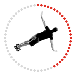 Push Up and Rotation Exercise Image